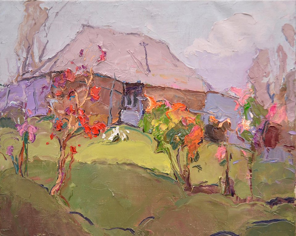 Vibumum bush near the house - Alexander Shandor