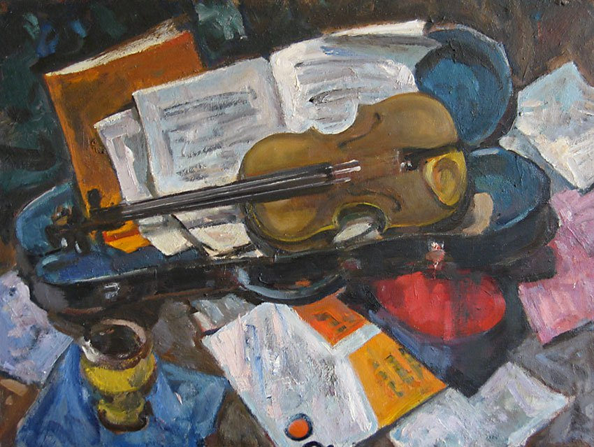 Music and Violin - Lev Russov