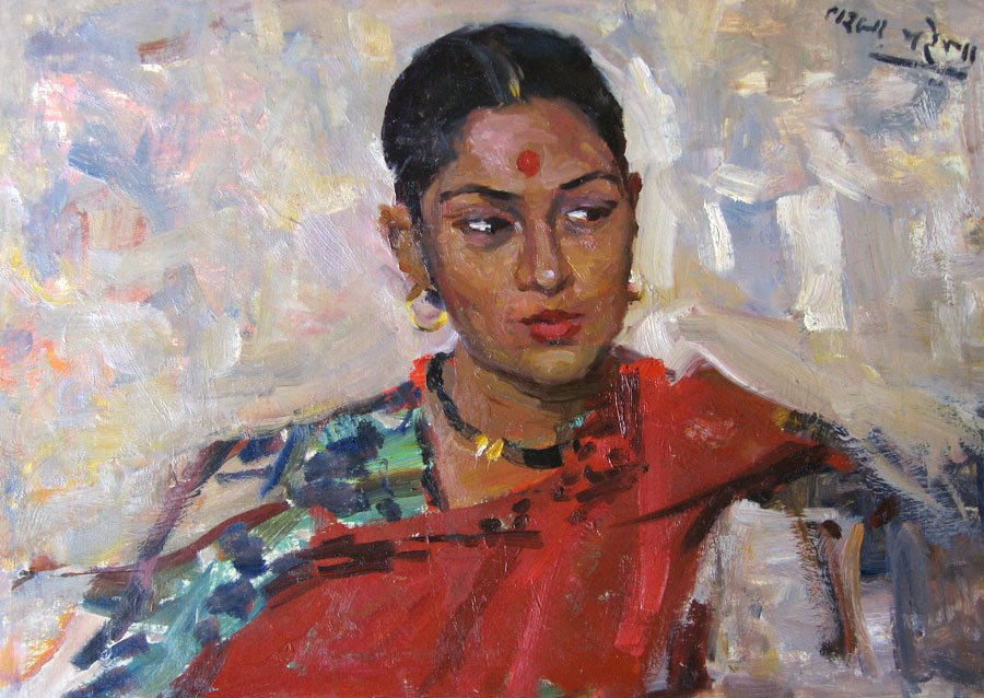 Indian Girl - Lev Russov