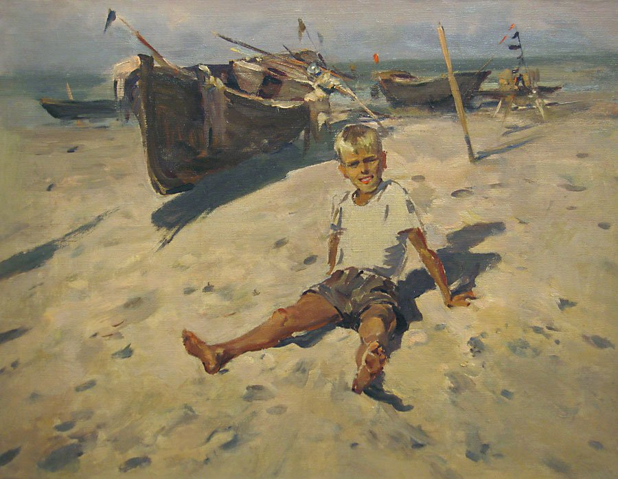 A Boy and a Sea - Lev Russov