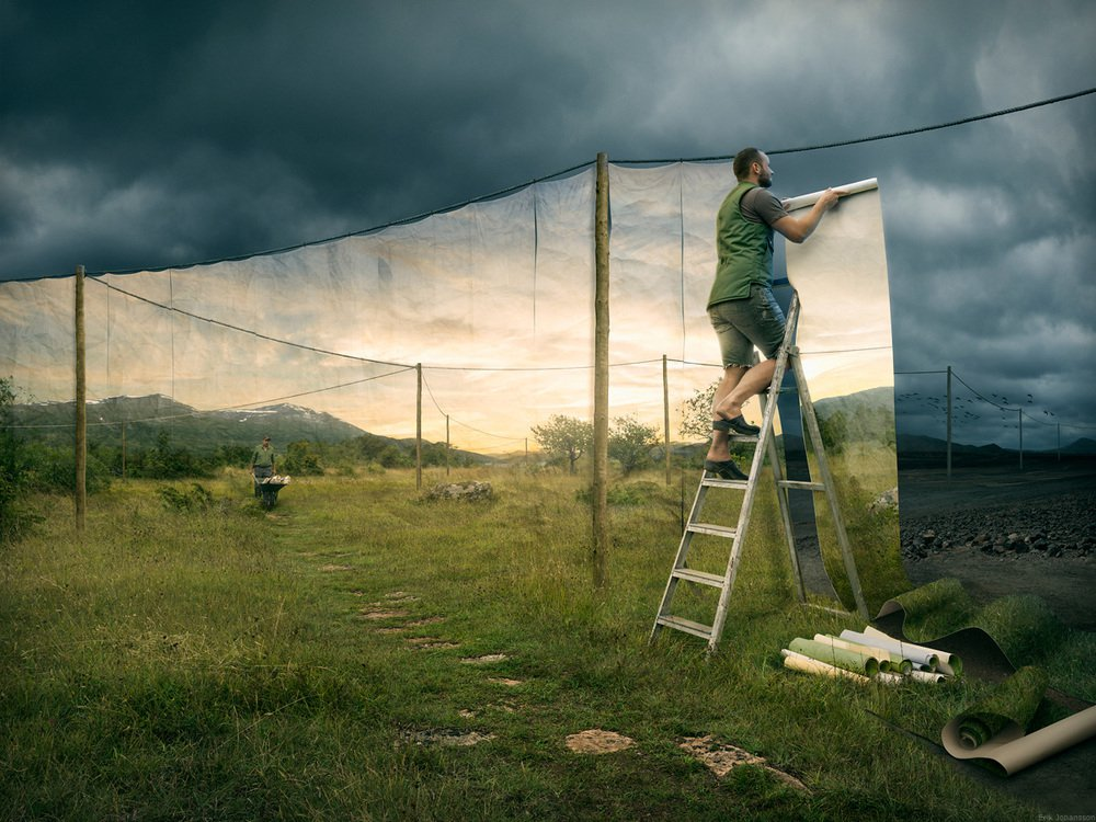 The Cover up - Erik Johansson