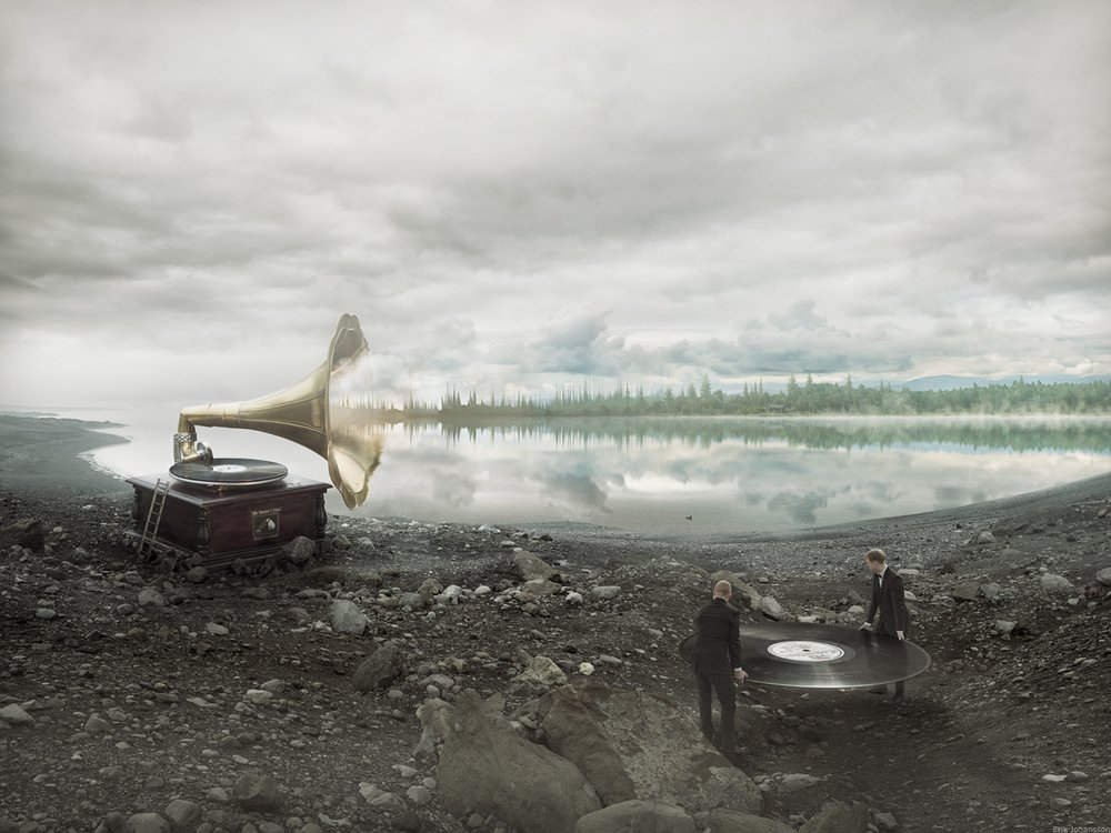 Soundscapes - Erik Johansson