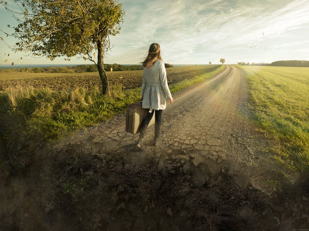 Don´t look back - Erik Johansson