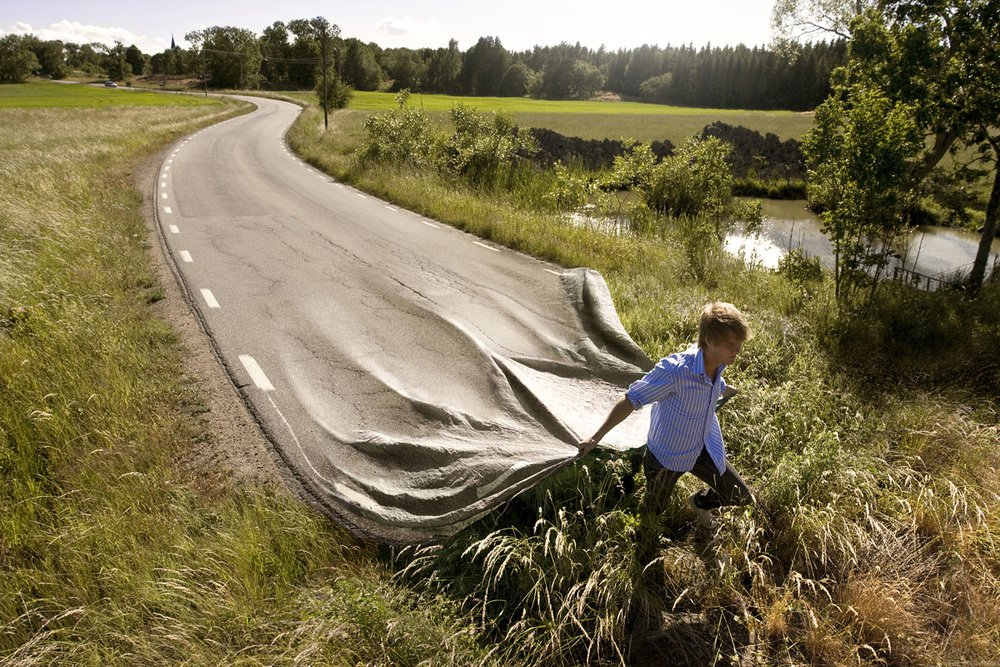 Go your own road - Erik Johansson