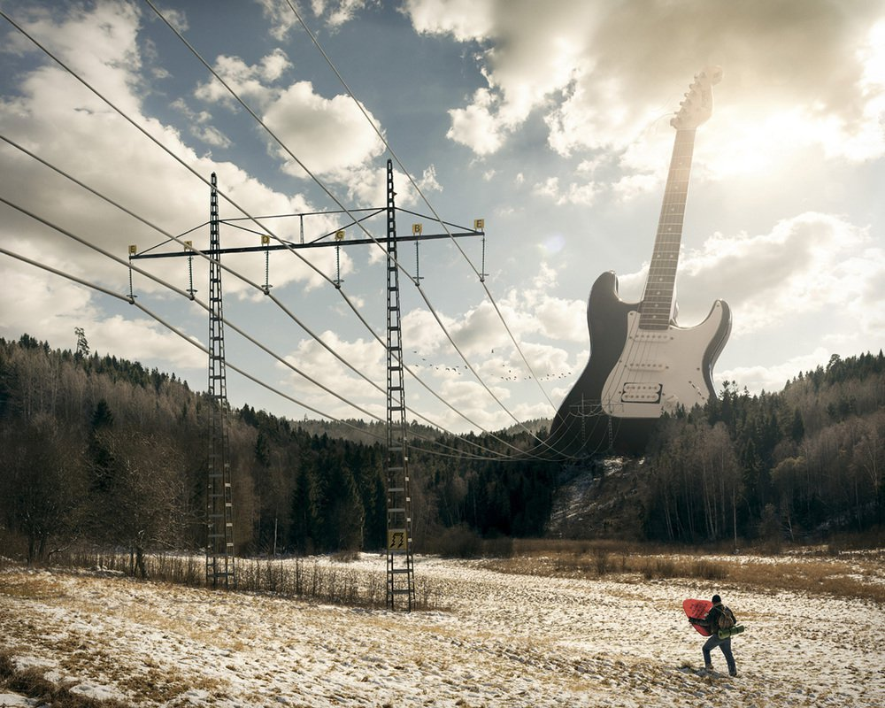 Electric Guitar - Erik Johansson
