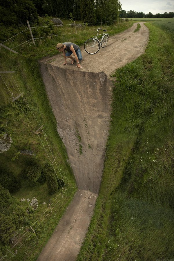 Vertical turn  - Erik Johansson