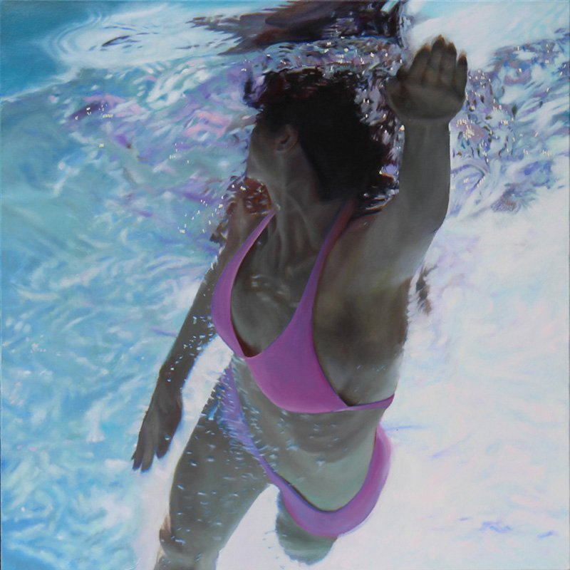 Pink Top Swim To - the artist Matt Story
