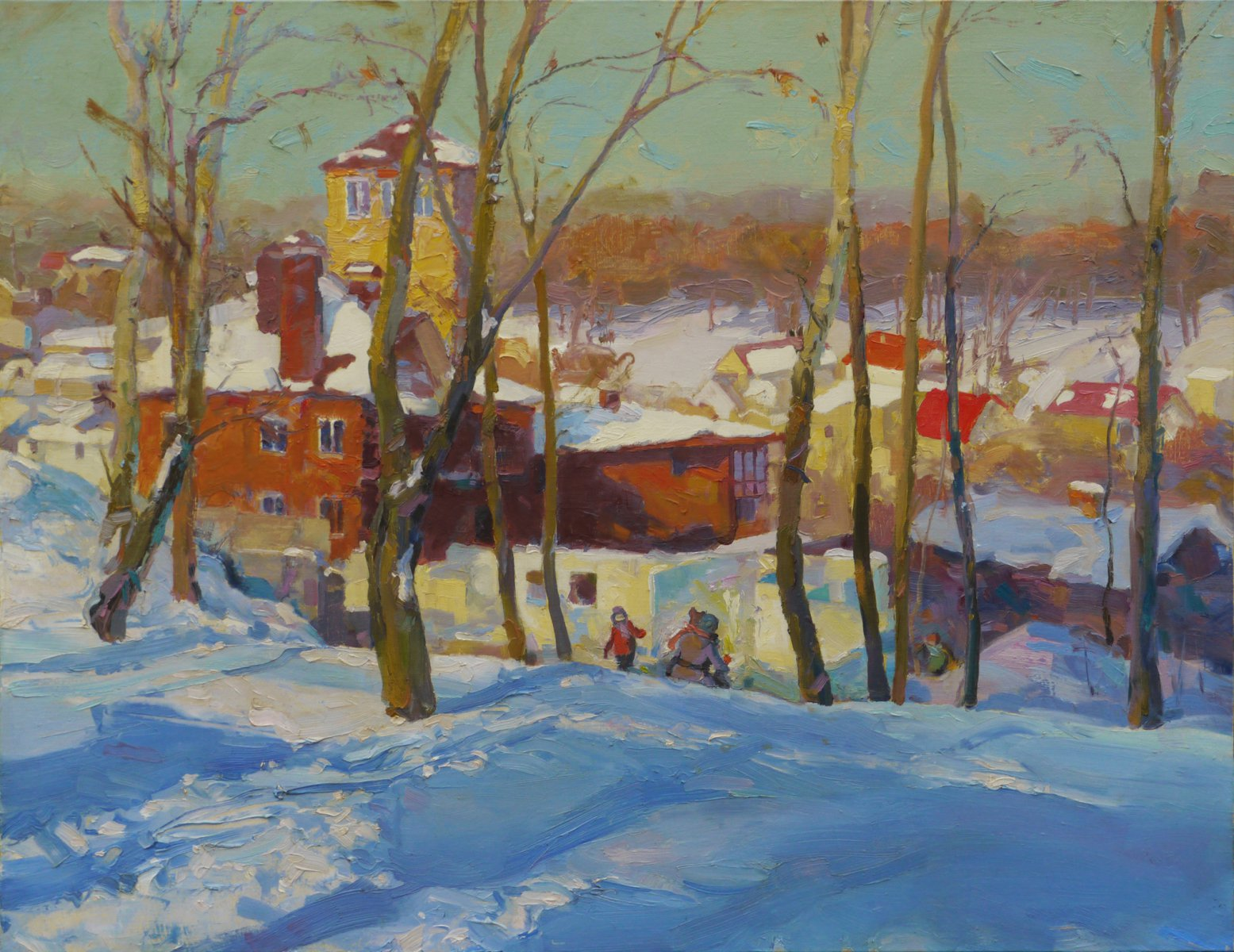 Winter on Kristers mountine - Victor Onyshchenko