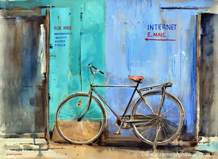 Bicycle For Hire - Ramesh Jhawar