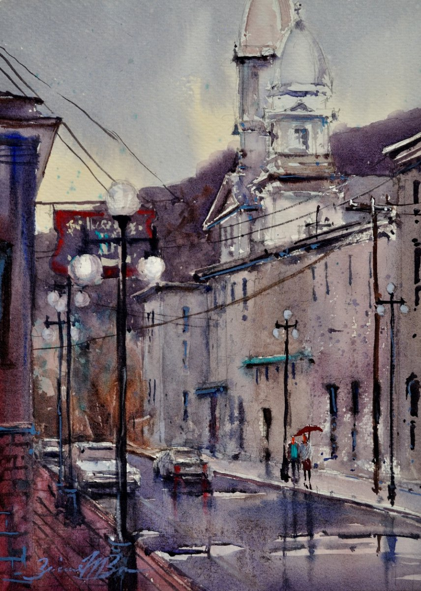 A Wet Day in Lock Haven - Brienne M Brown