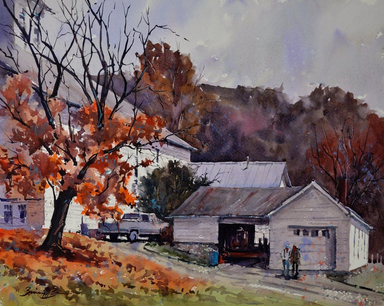 Late Fall at Barree Forge - Brienne M Brown