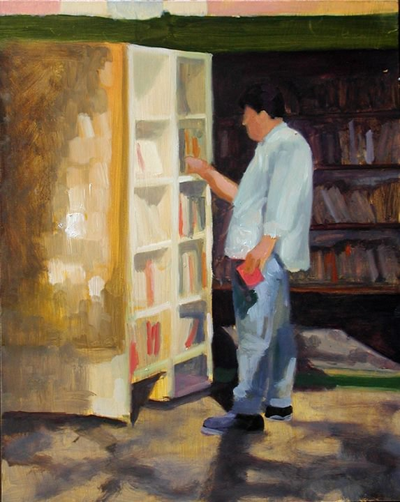 The Bookseller - Nigel Van Wieck