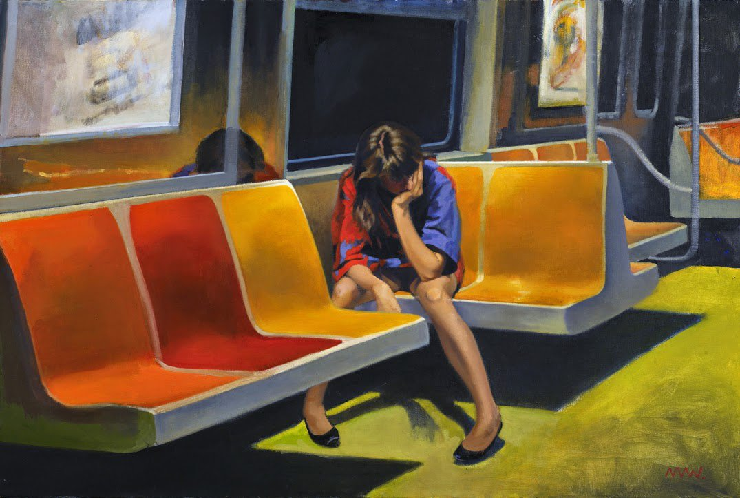 Q Train - Nigel Van Wieck
