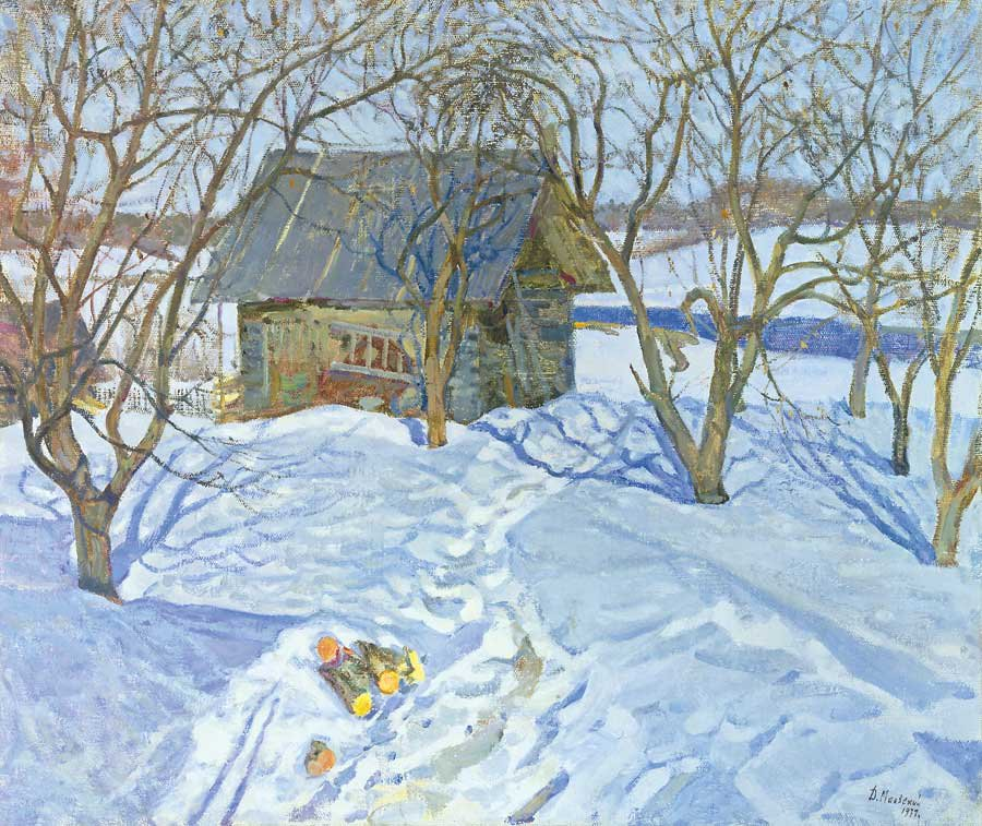 Dmitry Maevsky (1917-1992). March sun.