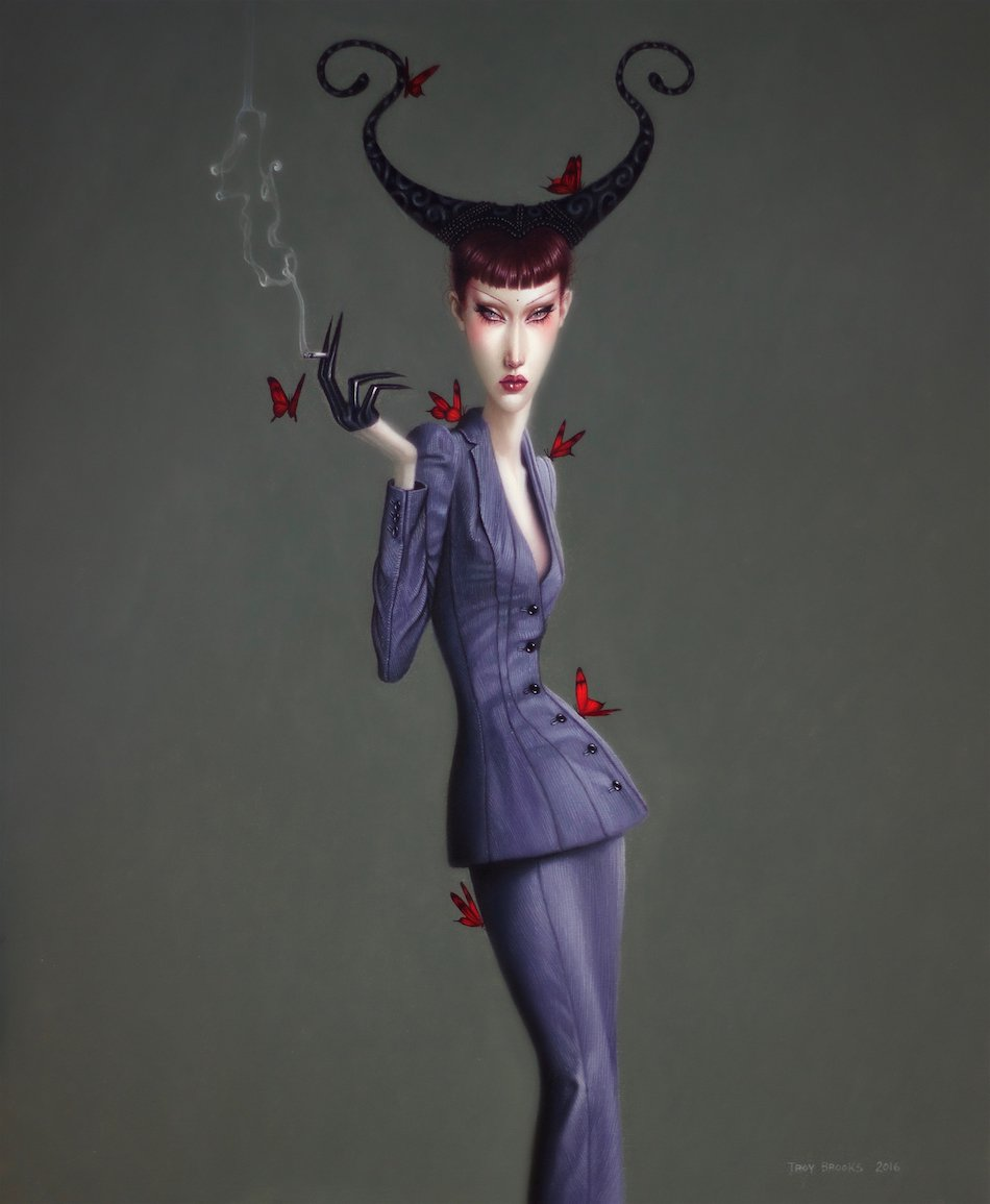 Bumble Sonnet For Saint Lucifer - Troy Brooks