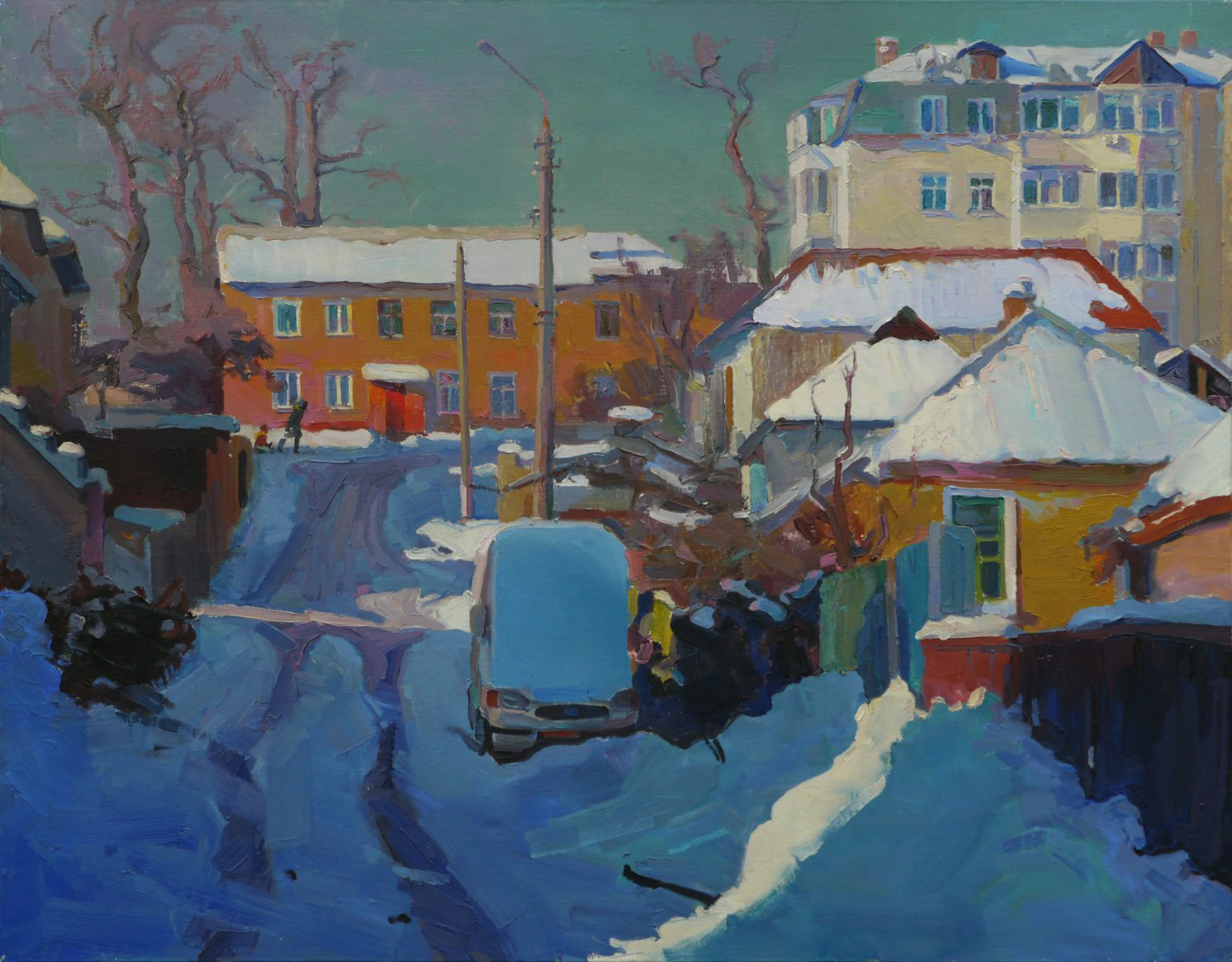 Winter on Vinogradar - Victor Onyshchenko