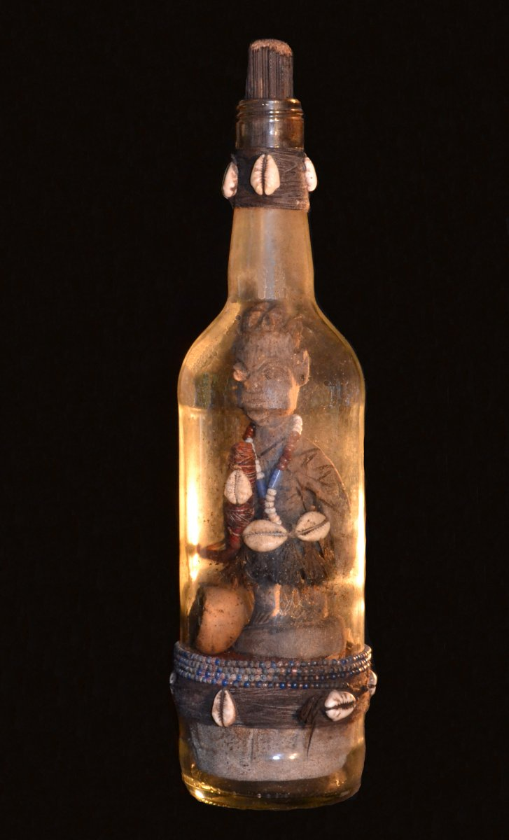 Kokou power vodun bottle Adja ethnic group, Benin