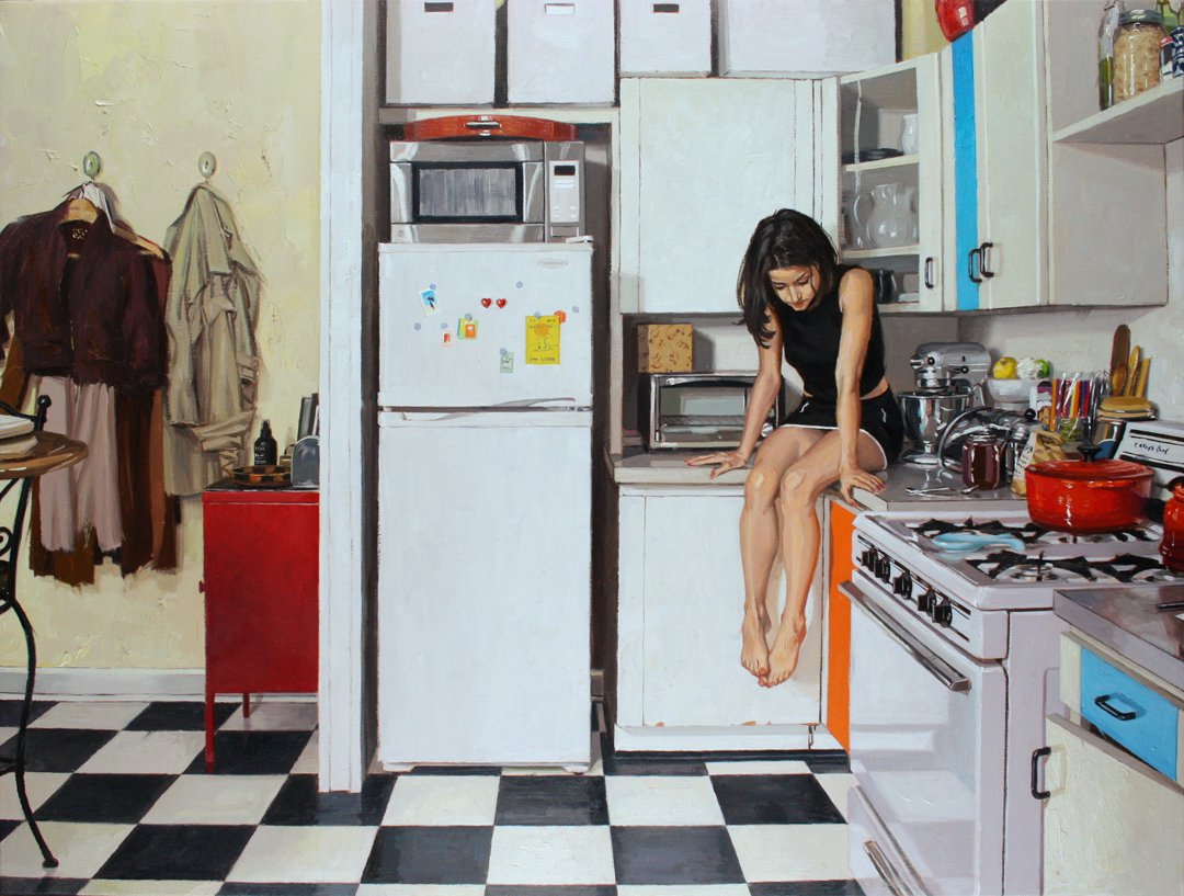 Bora in Her Kitchen - Vincent Giarrano