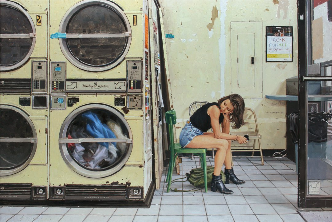 At the Laundromat - Vincent Giarrano