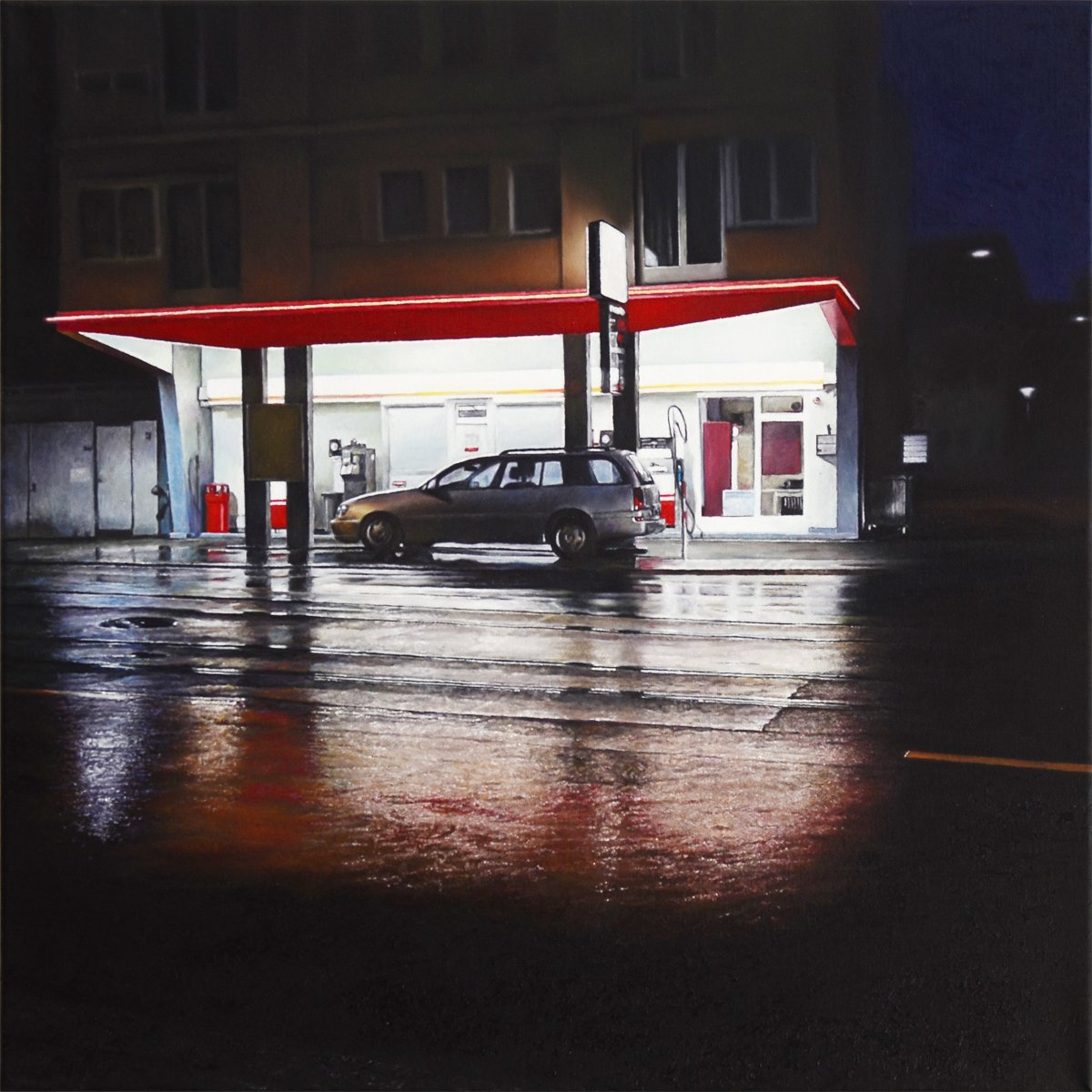 Gas Station - Christoph Eberle