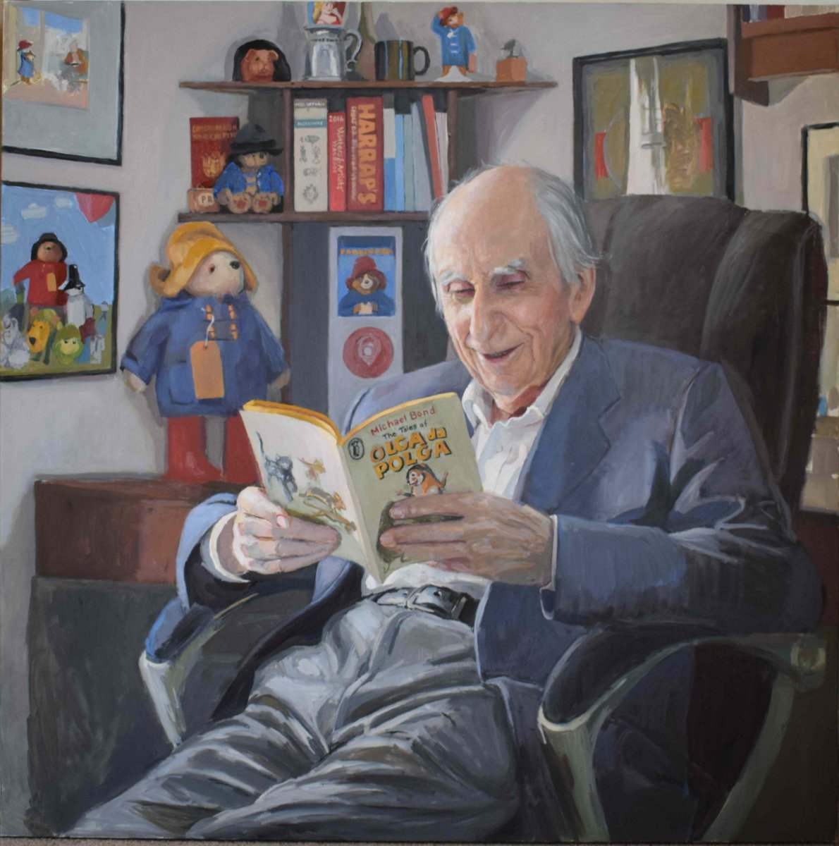 Michael Bond CBE - Hero Johnson