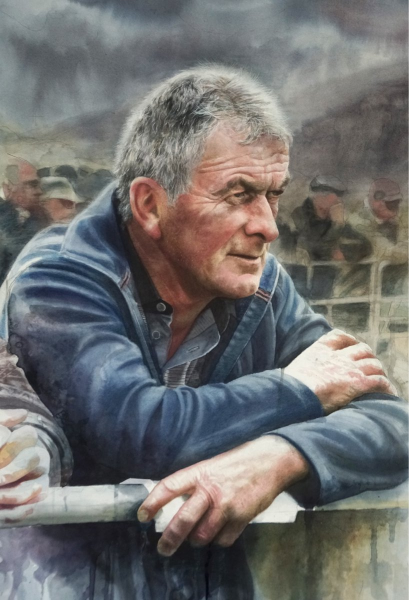 At the Market, Donegal - John Cooney