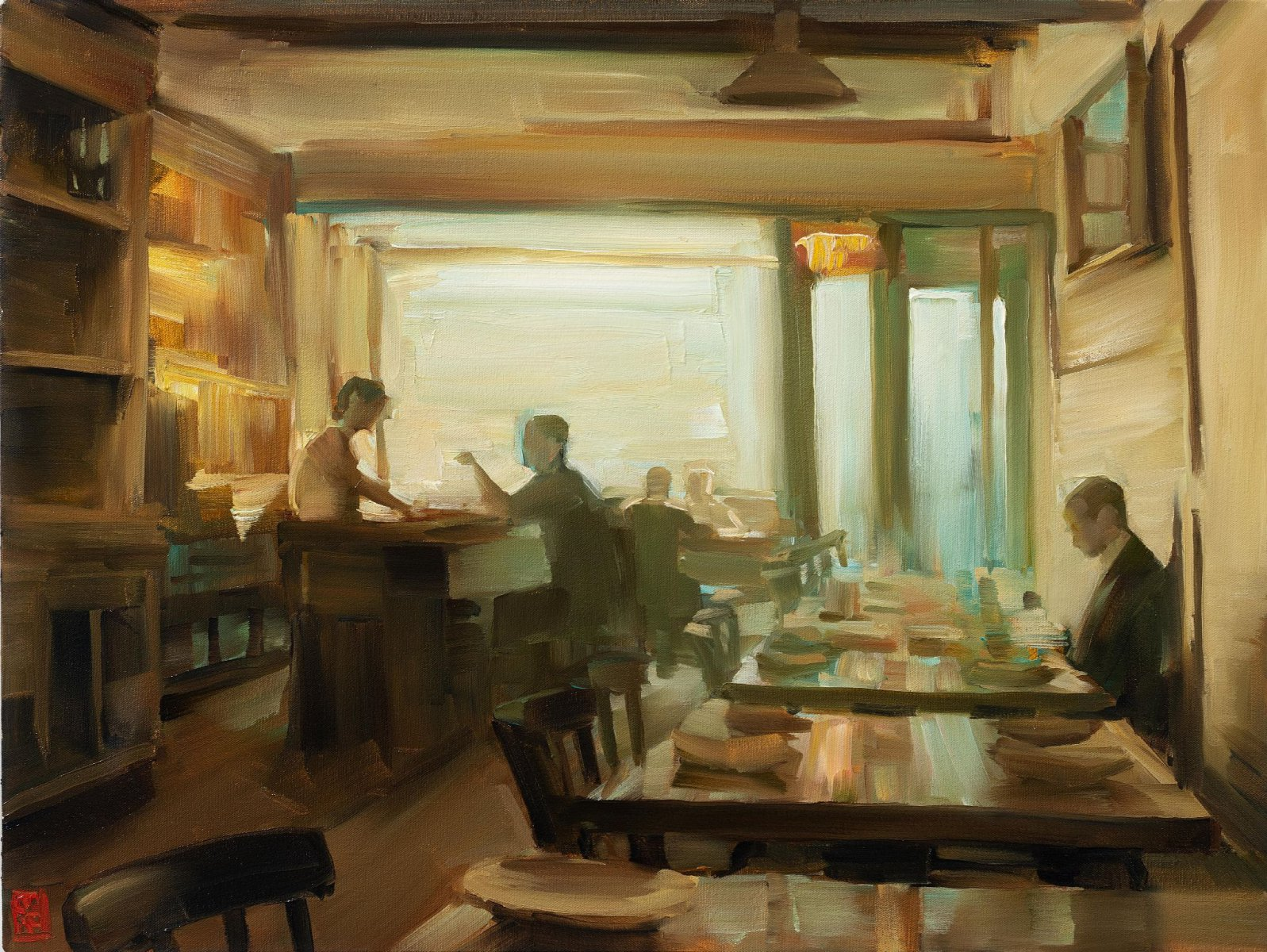Quiet Cafe - Sasha Hartslief
