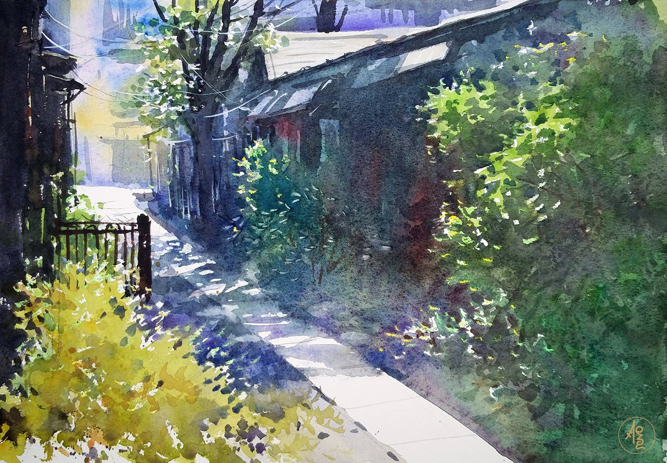 Japanese Alley 1 - Zhang Xueping