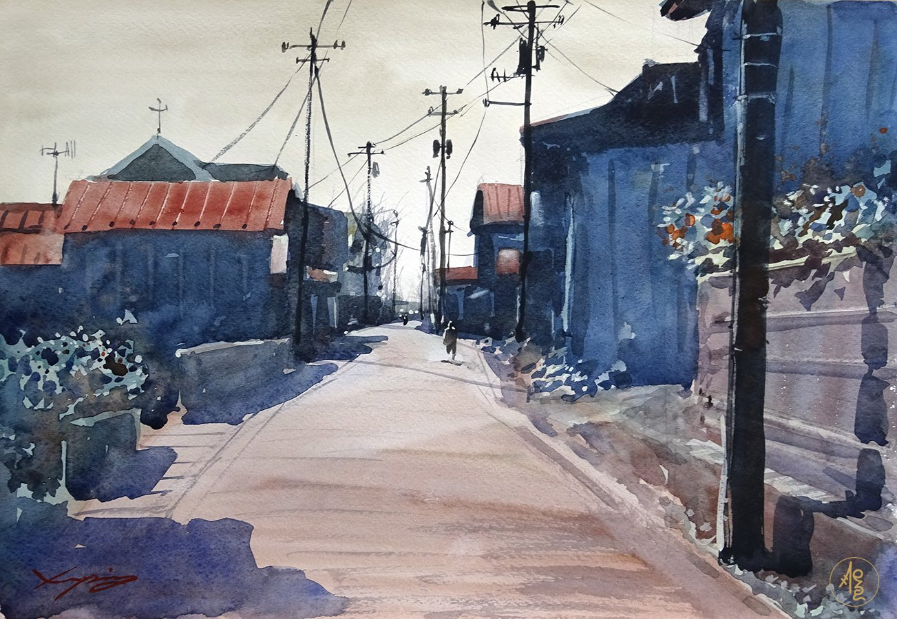 Japanese Alley 3 - Zhang Xueping